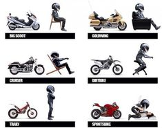 How to know which type of biker you should be