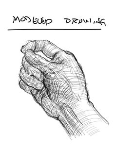 contour line drawing hands - Google Search