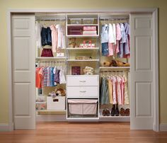 Organized Kid's Closet System by Organized Living traditional closet