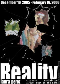 laura's Reality exhibition poster by dikini, via Flickr