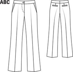 e56dbe4eff 38 Best BurdaStyle Modern Sewing  Wardrobe Essentials images