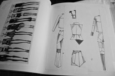 Fashion Sketchbook - fashion design drawings; developing a collection; fashion sketches; fashion portfolio // Peter Do
