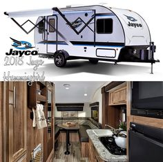 Jayco Campers, Rv Hacks, Camper Ideas, Travel Trailers, Tiny Homes, Hummingbird, Recreational Vehicles, Decor Ideas, Camping