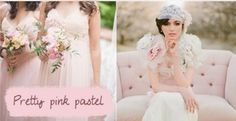 These soft pink pastel are perfect for your romantic spring weddings.The color palette includes baby pink, rose pink, nude pink, champagne pink and peach. Each of these shades brings in something ...