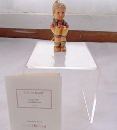 Berta Hummel Goebel Gift For Daddy Ornament + COA
