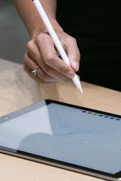 Here's your first look at the Apple Pencil in action