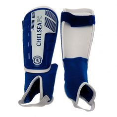 Chelsea F.C. Shin & Ankle Pads Kids #Sport #Football #Rugby #IceHockey