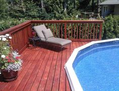 Here we provide you some looks at above ground pools with decks designs that are uniquely awesome and simple steps how to build a deck around a pool