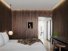 Timber on timber - Edition Hotel London