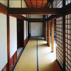Hallway of Ninna-ji,
