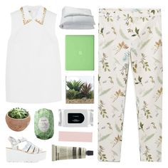 """""""● just stop lookin for love ●"""" by feels-like-this-could-be-forever ❤ liked on Polyvore featuring MANGO, Miu Miu, Frette, MAC Cosmetics, Lux-Art Silks, Fresh, Aesop, TalisLittleTag, MeenaGotTagged and kikitags"""