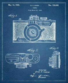 Camera 1940 Framed Print