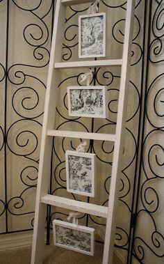 old Ladder for art or photo display