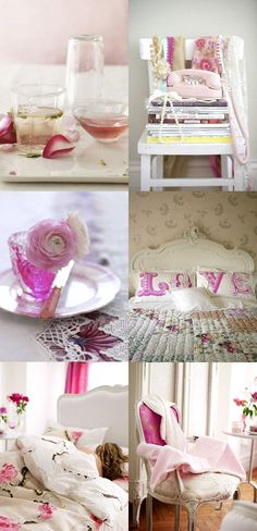 pink room accessories