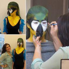 Parroting the parrot for a BMC Prosthetics class!