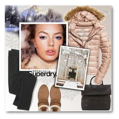 """""""The Cover Up – Jackets by Superdry: Contest Entry"""" by matildiwinky ❤ liked on Polyvore featuring Mint Velvet, Madewell, Fuji, UGG Australia and Superdry"""