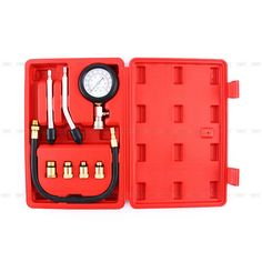 32.37$  Watch more here - http://ai8sn.worlditems.win/all/product.php?id=32697262630 - Multipurpose Engine Cylinder Compression Tester Kit Automobile Pressure Gauge For Cars Motorcycle Garage Tool