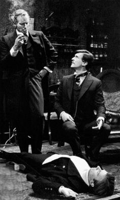Watson Wednesday: In which Jeremy Brett played Watson in The Crucifer of Blood, opposite Charlton Heston's Holmes. Elvis Presley, Rock And Roll, Stars Du Rock, Jeremy Brett Sherlock Holmes, Army Day, Young Elvis, You're Hot, Fake Pictures, Chuck Berry