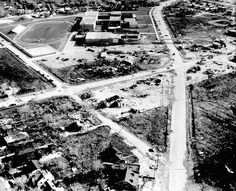 On April 21, 1967, five tornadoes struck the Chicago area, the worst hit were Oak Lawn, seen here, and Belvidere.