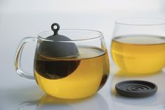 Floating tea strainer so you get all the flavours extracted