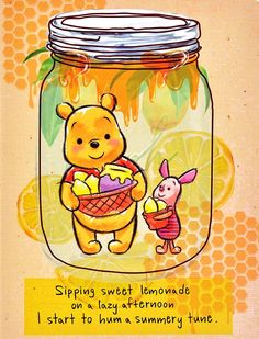 lemonade with pooh