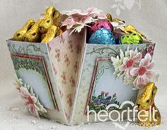 Heartfelt Creations | Pink Daisy Treat Box