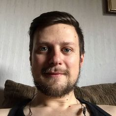 #selfie #selfies #picoftheday #blueeyes #fitness #instafitness #bodybuilding #me #relax #after #work #beard #lifestyle #happy #love #instagram #chill #model #lowcarb #afterwork #tanktop #listen #to #myonandshane54 #music #zyzz #mode #motivation #l4l #like4like by markj_max