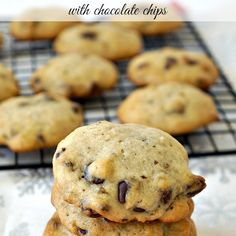 banana cookies Banana Bread Cookies Recipe - a fun twist on the classic banana bread, these chocolate chip banana bread cookies are perfect for a sweet breakfast - or any time of day! Banana Bread Cookies, Chocolate Chip Banana Bread, Banana Bread Recipes, Cookies Et Biscuits, Chocolate Chips, Cookies With Bananas, Chocolate Cake, Chocolate Morsels, Banana Nut