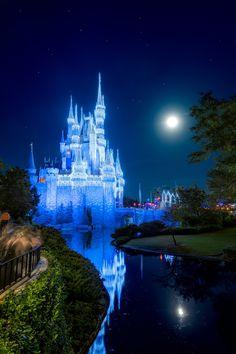 A Dream Moon Castle Print