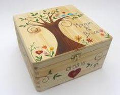 Image result for unique wedding keepsake box