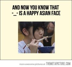 Happy Asian Face... - The Meta Picture