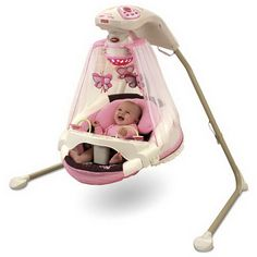 AN ABSOLUTE MUST FOR NEW MOMS! GET A SWING!!! TRUST ME!