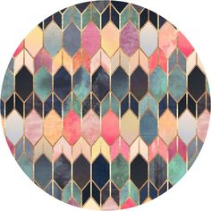 Don't be such a square! These circular self-adhesive cutouts are simply seductive in appearance. Stick one or stack 3+ for a geometric gallery effect. Break out the bubbly and go to town with these circular cutouts. They'll have you flush with joy and no matter how sideways you get, these circles are never tilted and always level.