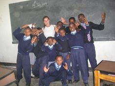 Students of Arusha, Tanzania @International Volunteer HQ