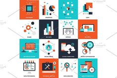 Technology concepts. Infographic Templates