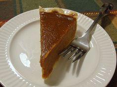 Gf, dairy free, egg free Pumpkin Pie