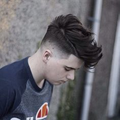 conortaaffehair_natural messy hair fade quiff