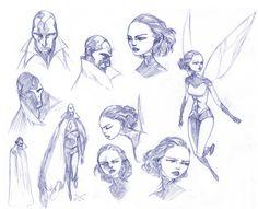 Max Fiumara - Character Design Page