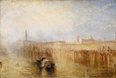 'Venice Quay, Ducal Palace', Joseph Mallord William Turner, exhibited 1844 | Tate