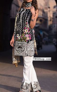 Black Lawn Suit | Buy Firdous Eid Collection Pakistani Dresses and Clothing online in USA, UK Pakistani Lawn Suits, Indian Suits, Pakistani Outfits, Pakistani Clothing, Eid Collection, Trendy Dresses, Fashion Outfits, Womens Fashion, Indian Fashion