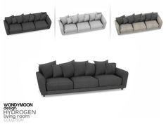 wondymoon's Hydrogen Sofa