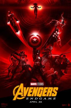 Marvel Avengers: Endgame is finally in theaters. Marvel has released one final poster featuring Avengers old and new. Marvel Comics, Hq Marvel, Marvel Heroes, Captain Marvel, The Avengers, Avengers Movies, Marvel Legends, Paul Ainsworth, Marvel Avengers