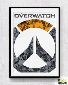 Logo print/poster by PopArcade on Etsy