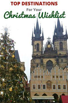 Top 5 Destinations on My Christmas Travel Wishlist #travel #christmas