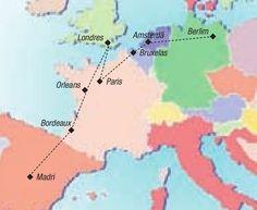 Oferta de viagem Circuito 17 dias Europa Ocidental com saida de Madri e final em Berlim