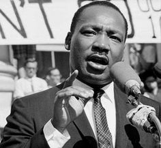 Martin Luther King Jr.- Pastor, Nobel Prize winner, acclaimed speaker, human rights activist, and champion of African-American civil rights.