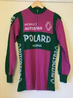 Polard Verona Renault Italian Wool Vintage Cycling Jersey New Unused in Sporting…