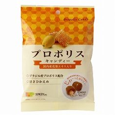 Brazilian propolis is blended, it is sweetness moderately candy that melts in your mouth with honey filled with domestic garland.