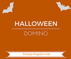 English Freak: HALLOWEEN DOMINO (PRINTABLE)