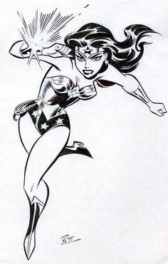 'Wonder Woman' by Bruce Timm